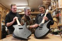 Gitarrenbaukurs, Gitarrenbauwerkstatt, Gitarrenbau, Gitarre, E-Gitarre